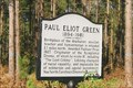 Image for Paul Eliot Green - E. of Lillington, NC