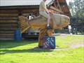 Image for Riding Salmon - Pioneer Park - Fairbanks, Alaska