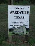 Image for FIRST County Seat of Johnson County - Wardville, TX