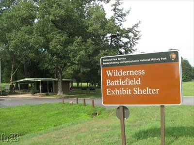 Start your tour here -- at the Wilderness Battlefield Exhibit Shelter.