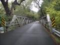 Image for Bale Lane Pony Truss Bridge - Calistoga, CA