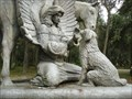 Image for Dog at the Garden of Love - Micanopy, FL