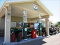 Image for Two Vintage Sinclair Gas Pumps in Delta, Utah USA