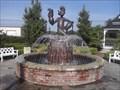 Image for Popeye Fountain - Popeye Park - Alma AR