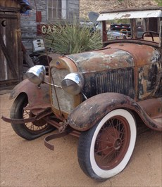 Rusty Vintage Car - Hackberry