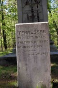 Image for 25th Tennessee Infantry Regiment Marker - Chickamauga National Battlefield