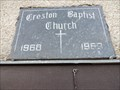 Image for 1969 - Creston Baptist Church - Creston, BC
