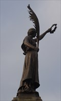 Image for Victoria on WWI War Memorial – Keighley, UK