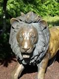 Image for Bronze Lion - Busch Gardens - Tampa Bay, Florida.