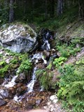 Image for Small Waterfall at a Forest Road - Todtnau, BW, Germany