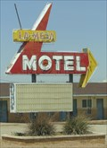 Image for La Mesa Motel - Neon - Route 66, Santa Rosa, New Mexico, USA.