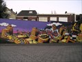 Image for Parking-lot Graffiti, Enschede, Netherlands.