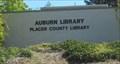 Image for Auburn Library - Auburn, CA