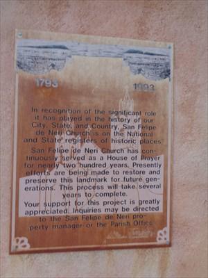 veritas vita visited San Felipe de Neri Church