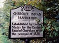 Image for Cherokee Indian Reservation/(Leaving) Cherokee Reservation-Q 14