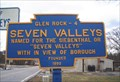 Image for Blue Plaque: Seven Valleys