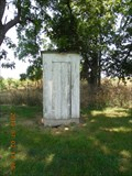 Image for Dice Cemetery Outhouse in rural Newton County, Missouri