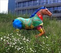 Image for Painted Fiberglass Horse at the Brewery - Rheinfelden, AG, Switzerland