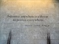 Image for Martin Luther King, Jr. quote, Ralph L. Carr Judicial Center - Denver, CO
