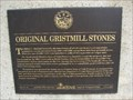 Image for Original Gristmill Stones