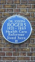 Image for Dr Joseph Rogers - 33 Dean Street, London, UK