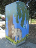 Image for Wolf and Eagle Utility Box - San Jose, California