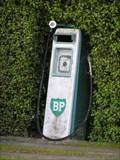 Image for Petrol Pump Mailbox. Tikokino. Hawkes Bay. New Zealand.