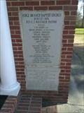 Image for 1974 - Ridge Branch Baptist Church - Saluda County SC