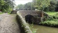 Image for Canal Lock 8 Stone Bridge On The Peak Forest Canal – Marple, UK