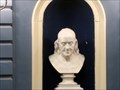 Image for Benjamin Franklin Marble Bust - Boston, MA