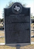Image for Confederate Cemetery - City Cemetery #4 - San Antonio, Texas