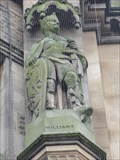 Image for Monarchs – King William I of England on side of city hall - Bradford, UK