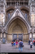 Image for Portal of Westminster Abbey' North Transept (London,UK)