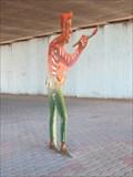 "Image for Lulu Stanley, self-portrait - ""Shadow Play"" - Emeryville, CA"