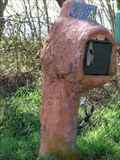Image for Is it a tree trunk Mailbox?   Murupara.  New Zealand.