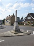 Image for Combined War Memorial - Needingworth, Cambridgeshire, UK