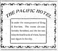 Image for Pacific Hotel - Greenwood, BC - 1907