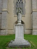 Image for Combined War Memorial - Elsworth, Cambridgeshire, UK