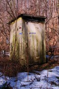Image for Hunting Camp Outhouse - Near Wellsboro, PA