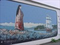Image for Arrival Of The 'Reindeer' In Horseshoe Bay Mural - Chemainus, BC