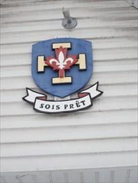 Logo et devise des scouts.Logo and Boy Scout motto.
