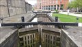 Image for River Lock On The Leeds Liverpool Canal - Leeds, UK