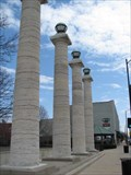 Image for Boone County Courthouse Columns - Columbia, Missouri