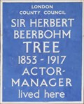 Image for Sir Herbert Beerbohm Tree - Rosary Gardens, London, UK