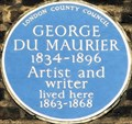 Image for George du Maurier - Great Russell Street, London, UK