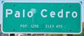 Image for Palo Cedro ~ Elevation 455