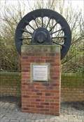 Image for Hickleton Main Colliery, Memorial Wheel, South Yorkshire