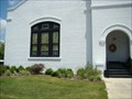 Image for Stained Glass Windows - Methodist Church - Lake Butler, Florida