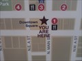 """Image for Downtown Bentonville """"You Are Here"""" Map - Bentonville AR"""