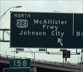 Image for McAllister Freeway U.S. 281 (nee North Expressway); San Antonio, TX
